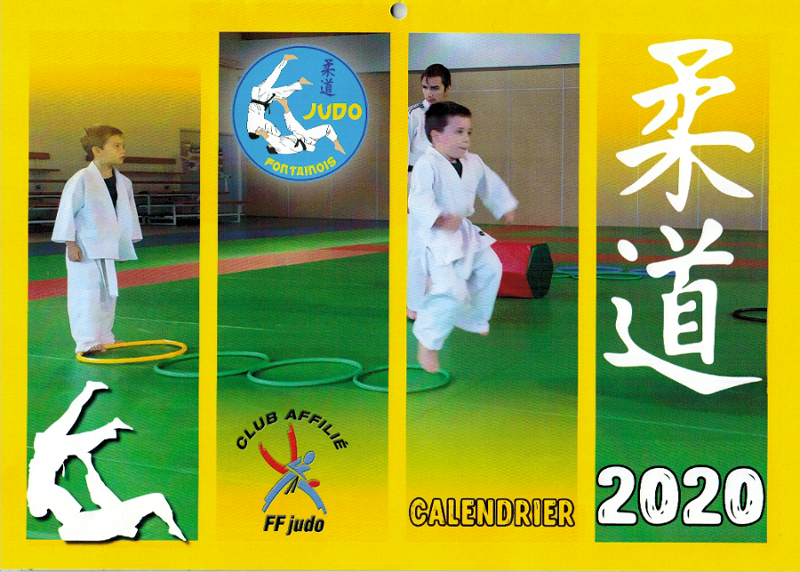 JudoFontainois Calendrier2020